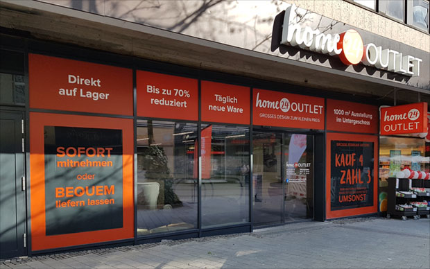 Der Home24 Möbel Outlet Store In Bottrop